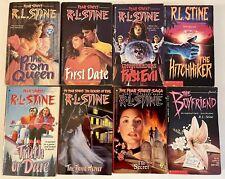 R.L. Stine Fear Street Books Lot of  6 Plus 2 From  R.L. Stine Point Series