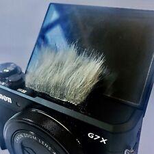 Universal Fur Stick-on Camera Wind noise Shield Muff Muffler Canon G7X G7Xiii