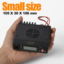 Car Mobile Two-way Ham Radio Transceiver Dual-Band 136-174/400-470MHz 10W USA