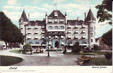 Sweden Lund - Strand Hotel undivided back unused postcard