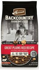 Merrick Backcountry Raw Infused| Great Plains Red Recipe Dry Dog Food - 20LBS