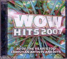 WOW Hits 2007 2CD Box Classic Christian Rock Pop TOBYMAC THIRD DAY CHRIS TOMLIN