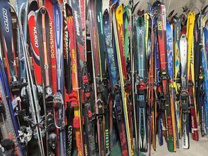 Used Telemark Skis and used bindings