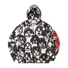 supreme yohji yamamoto hoodie white
