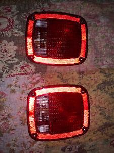 Volvo/Mack/Hino Truck 82750867 - New Combination Box Tail Lamp Set