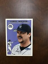 New listing 2000 FLEER TRADITION Twizzler #12 Larry Walker Colorado Rockies Nrmt