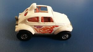 VINTAGE HOT WHEELS MATTEL - VW BEETLE Blanc - Blazin Bug