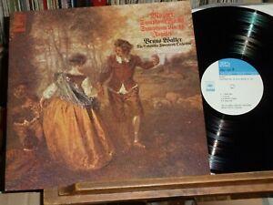 Mozart Bruno Walter Sym 40 41 Audiophile Direct Plating Japan SX-74 One Step NM