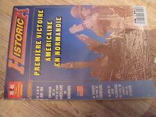 $$b Revue 39/45 HS Historica N°18 Premiere victoire Americaine en Normandie