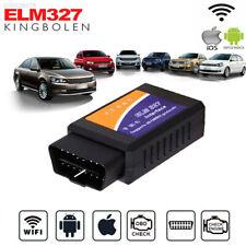 ELM327 OBD2 Car WIFI Code Reader Diagnostic Scanner For Samsung HTC Android &PC