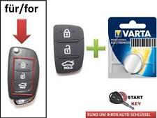 Hyundai Schlüssel Gummi + Batterie i10 i20 i30 i40 IX25 key chiave cle llave 3T