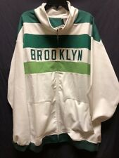 Mitchell & Ness Brooklyn Vintage Jacket Cooperstown Collection Size 4XL New Tags