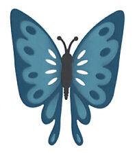 """Quickutz 4""""x4"""" Die Butterfly 1 die"""