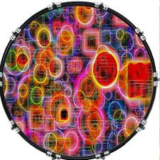 "Custom 22"" Kick Bass Drum Head Graphical Image Front Skin Colorful 26"
