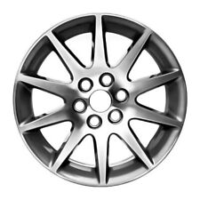 04131 Refinished 19X7.5 Alloy Wheel Charcoal Metallic Painted w/Machined