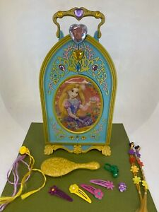 Disney Store - Tangled / Rapunzel - Jewellery Box Vanity Hair Accessories Set