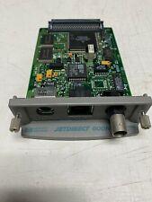 Hp Jet Direct 600N J3111A Eio 10/100 Plug In Print Server Card