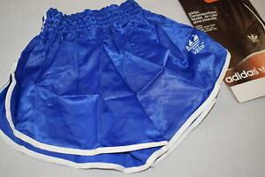 Adidas Shorts Short Hose Pant Hot Pant Vintage Sprinter 80s Nylon Glanz Woman 1
