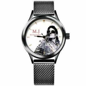 2020 New Michael Jackson Souvenir Watch Classic Leather Band