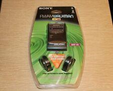 SONY SRF-49 FM/AM Walkman Portable Radio New In Package Vintage