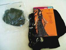 NEW Girls 4/6 Sorceress Witch Costume  Dress Choker Hat Belt