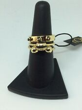 nOir Jewelry Hive Stackable Rings Size 7 New With Tags