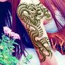 3D Black Dragon Removable Waterproof Temporary Tattoo Leg Body Art Sticker  3F8