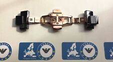 EMPORIO ARMANI BLACK/ROSE BRACELET CLASP for AR1410 Watch Strap with links
