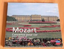 Mozart - Concertos pour Cor - Halstead - Christopher Hogwood - CD Decca