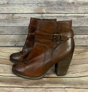 Frye Patty Riding Leather Booties (Size: 7.5)