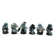 Warhammer 40K Space Marine Wolves Wolf Long Fang Devastators x 6