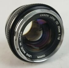 Canon FD  55mm  f1.2 fast manual focus lens for Portraiture. Great Bokeh !!!