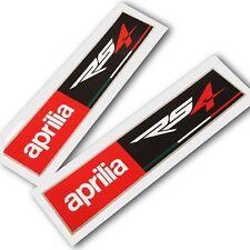 APRILIA Racing estilo RS4 Motocicleta Gráficos Pegatinas Calcomanías rectángulo X 2 piezas