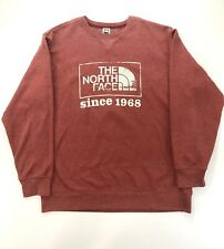 The North Face Men's Red XL Pullover Sweater Crew