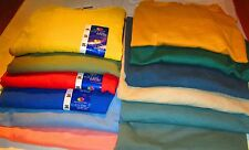 Fruit of The Loom & Others T-Shirts 2XL 8 Pc lot 8 colors 100 % Cotton 50/50