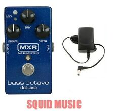 MXR Dunlop M288 Bass Octave Deluxe Effects Pedal M-288 ( Free Power Supply )