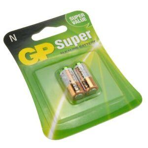 LR1/N Battery GP Batteries Super Alkaline LR1/N 1.5 Volt Pack of 2 Clock Battery