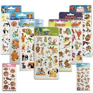 LICENSED CHARACTER STICKERS {Purple Peach} Kids/Fun/Hanna Barbera/Looney Tunes