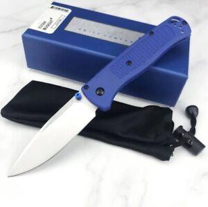 535 Folding Knife S30V Blade Tactical Camping Survival Pocket Nylon Handle Hunt