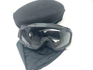 Oakley SI Ballistic Goggles #11-150 Extra Lenses, Case & ESS Prescription Insert