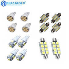 14Pcs Led Interior Package Kit For T10 31mm Map Dome License Plate Lights White(Fits: Neon)