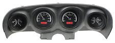 Dakota Digital 69 70 Ford Mustang Analog Dash Gauges Black Red VHX-69F-MUS-K-R