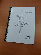 HTC DESIRE FULL PRINTED USER MANUAL GUIDE 211 PAGES A5