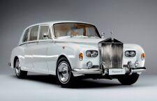 Rolls-Royce Phantom VI in White in 1:18 Scale by Kyosho  KYO-8905W0