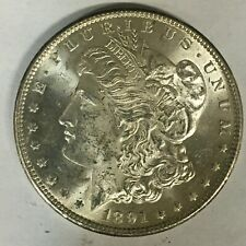 1891-S Morgan Silver Dollar Select BU