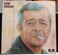 Serge Reggiani - self titled - 1970 threefold cover LP record