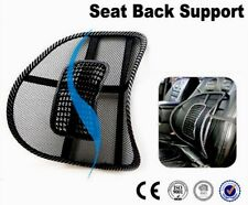 2x Mesh Lumbar Back Support Cushion Seat Posture Corrector Car Office Chair Home