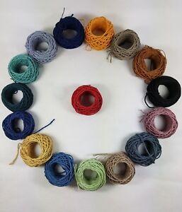 Hemp Twine String Rope Cord Craft Macramé Wrapping String   Shabby Chic