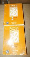2000 Chevrolet Cavalier Pontiac Sunfire OEM Service Repair Shop Manual Set