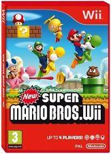 Nuevo Super Mario Bros Wii NINTENDO Wii Juego - 1st Class Delivery